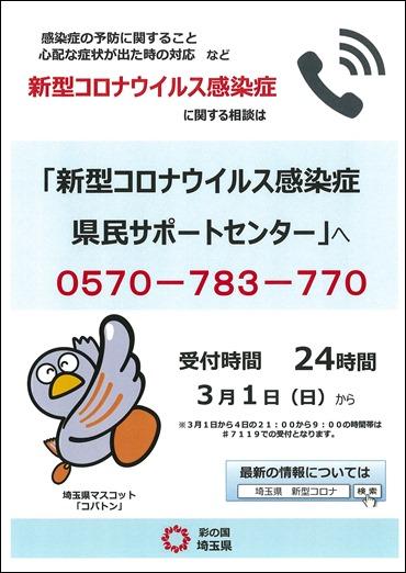 コロナ 人数 県 埼玉